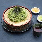 Лапша «соба» с зеленым чаем